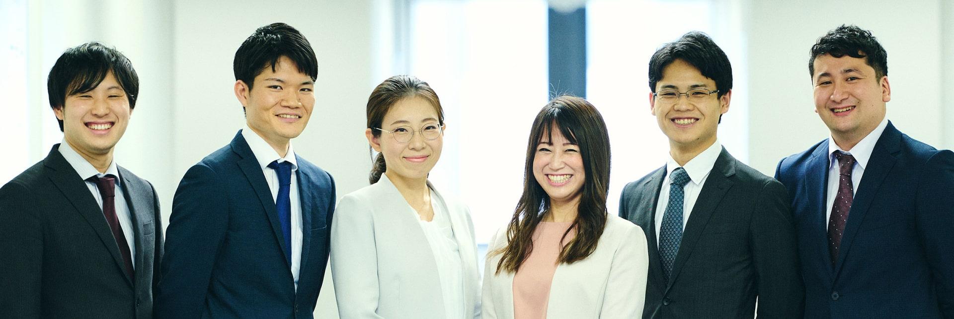 アクタス大阪事務所のメンバー